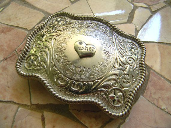 Usher Western Wedding Gift Groomsmen Usher Gift  by StepOriginals