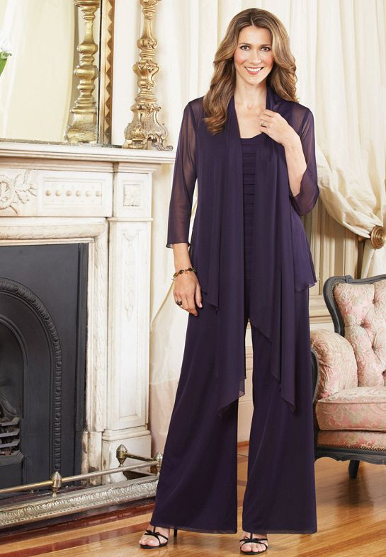 David Bridals Mother Pant Suits Of The Bride Fashion
