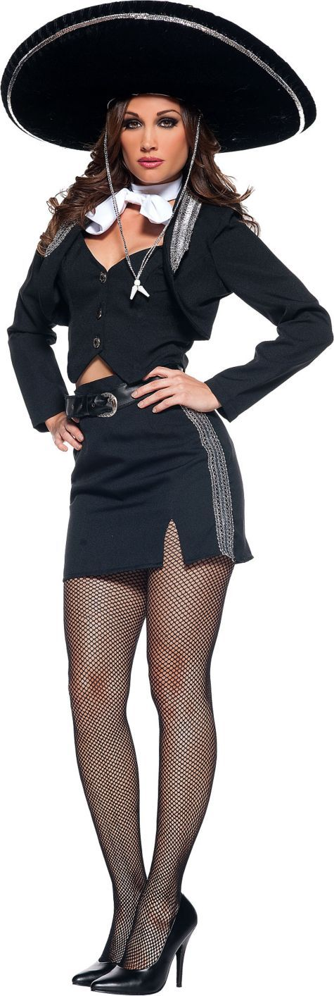 Adult Senorita Mariachi Costume - Around the World - Sexy Costumes - Halloween Costumes - Categories  sc 1 st  Pinterest & 12 best mariachi costume images on Pinterest | Halloween ideas ...