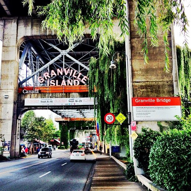 We ALL love Granville Island.  Here you can find Clarence Mills in the Longhouse, find our clothing at Bodacious, AND visit the farmer's market all in the same visit.