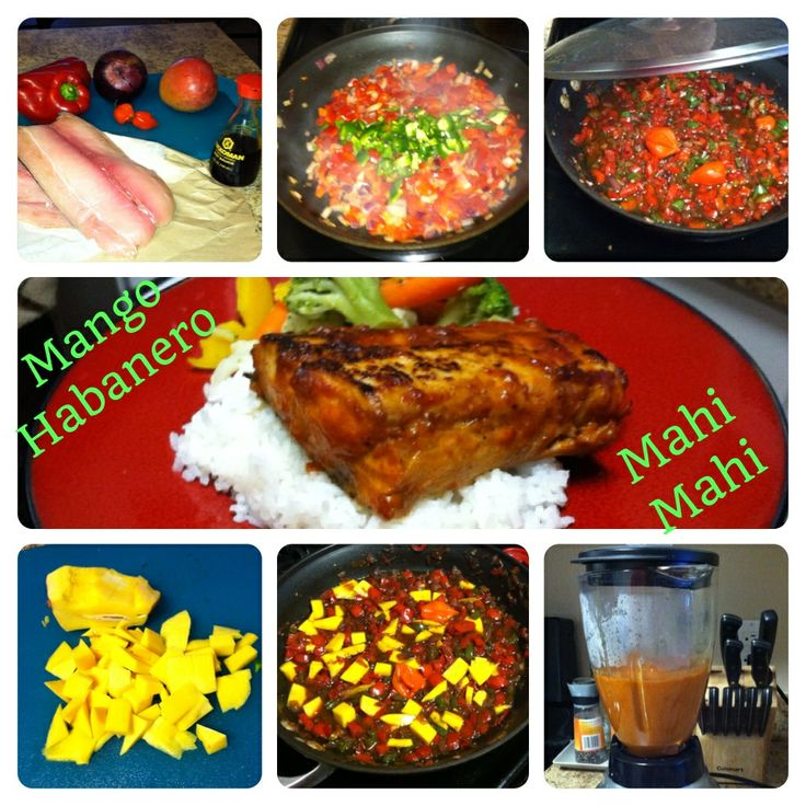 Mahi mahi, Fish recipes and Red bell peppers on Pinterest