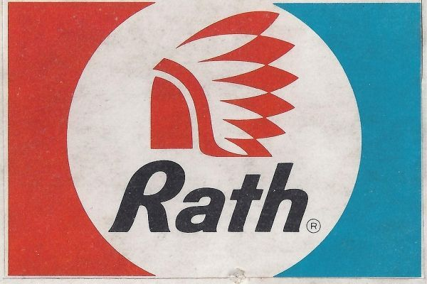 My Dad Worked For Rath For Many Years This Picture Of The Logo Really Brought Back Memories Of Him Vintage Graphic Design Graphic Design Logo Logo Design