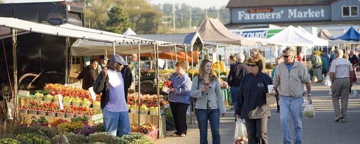 """St. Jacobs Farmers Market in Waterloo, Ontario.  One of the places I miss the """"most"""" since moving away."""