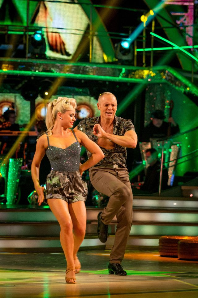 SCD week 5, 2016. Judge Rinder & Oksana Platero. Charleston. Credit: BBC / Guy Levy