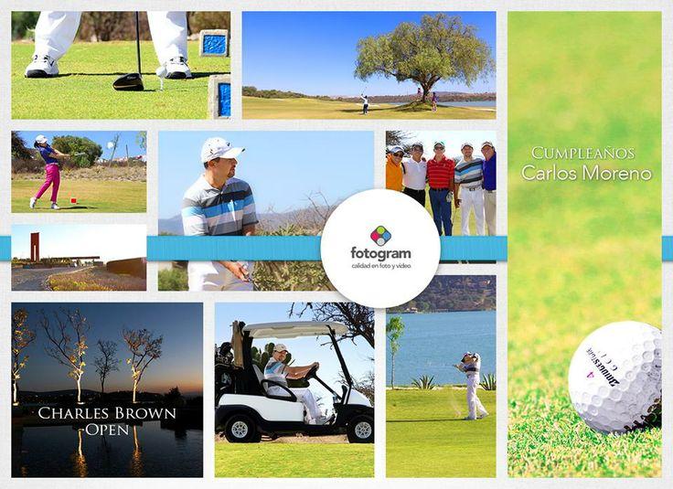"""Foto de Evento en el Torneo de Golf """"Charles Brown"""" en el cumpleaños de Carlos Moreno en Amanali Country Club & Nautica en Tepeji del Río el 9 de febrero del 2014. Incluido en su paquete Foto + Video. Fotogram"""