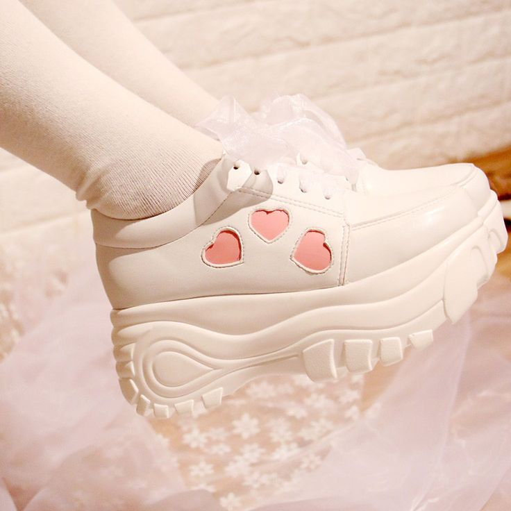 Japanese sweet love round students sports shoes YV265