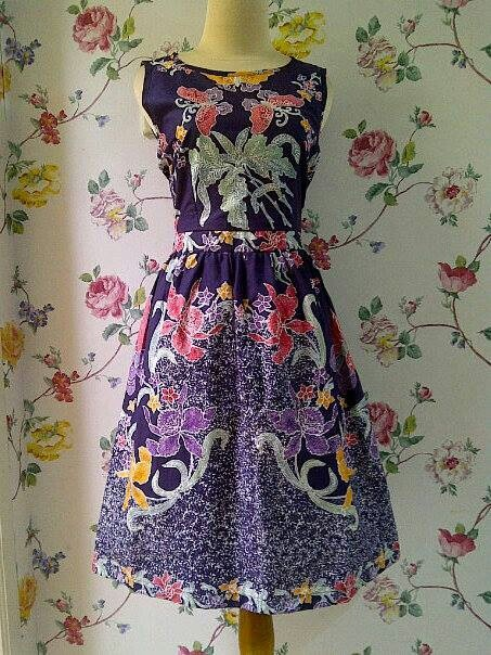 Batik dress.