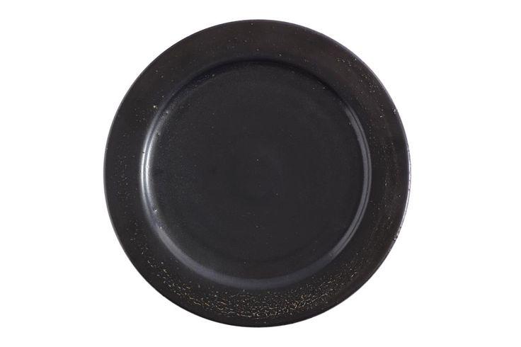 Plate Swift Lunch Black