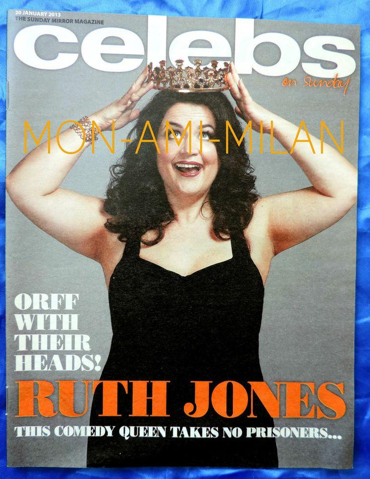 RUTH JONES Professor Brian Cox ASHLEY ROBERTS Matt Goss SHAYNE WARD - Mag 2013