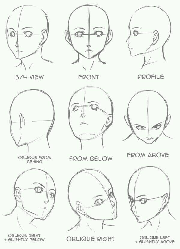 Como Dibujar Ojos Boca Y Nariz