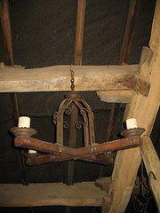 Antique Iron Chandeliers
