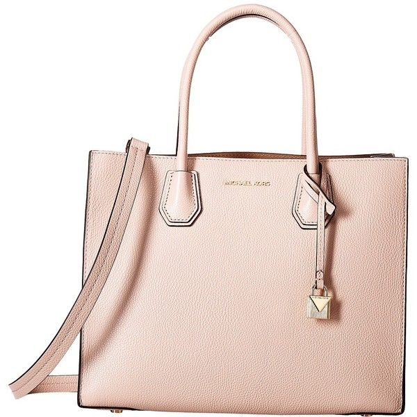 97a37acb2aa4fb MICHAEL Michael Kors Mercer Large Convertible Tote (Soft Pink) Tote... (