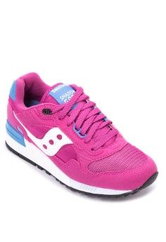 Shadow 5000 Sneakers from Saucony in pink and blue_1