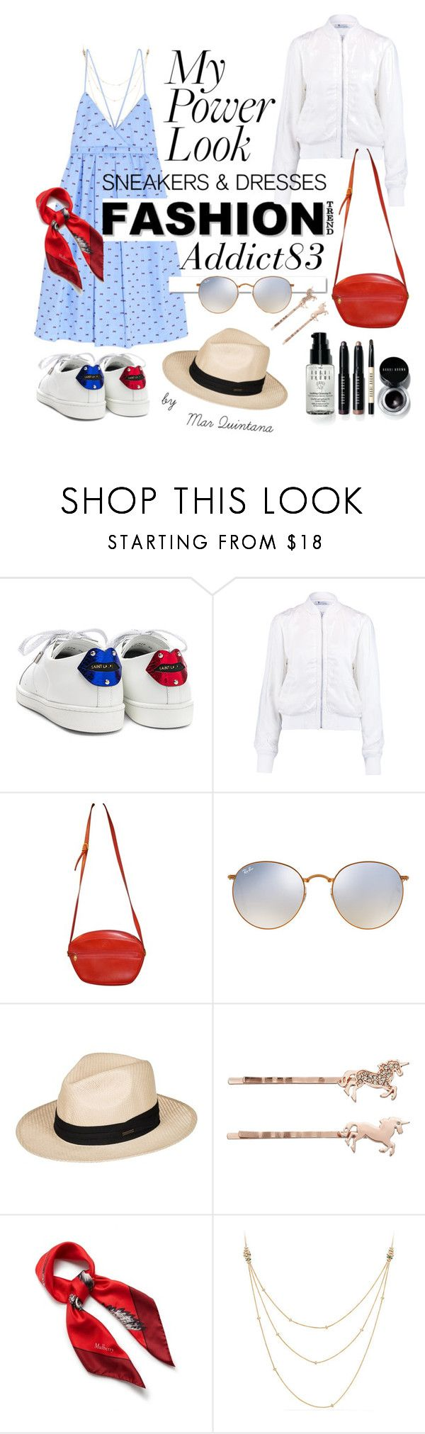 """""""fashionaddict83"""" by mar-quintana on Polyvore featuring Yves Saint Laurent, T By Alexander Wang, White Label, Gucci, Ray-Ban, Roxy, LC Lauren Conrad, Mulberry, David Yurman and Bobbi Brown Cosmetics"""