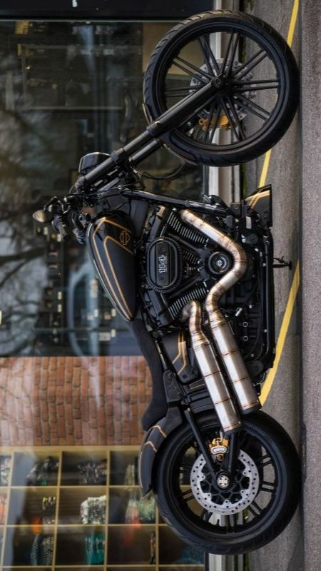 Bobber Motorcycle, Bobber Chopper, Cool Motorcycles, Custom Bikes, Motorbikes, Hip Hop Tattoo, Motorised Bike, V Rod, Bike Ideas