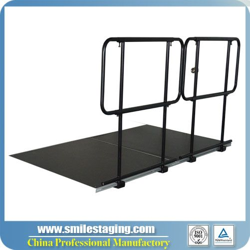 4ft Guard Rails For Portable Stage Systems