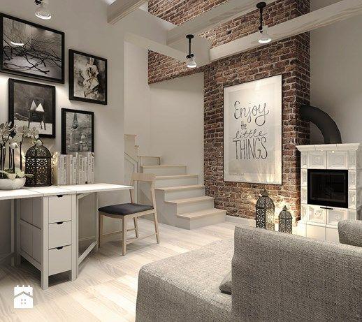 Salon, styl rustykalny - zdjęcie od Agata Hann Architektura Wnętrz