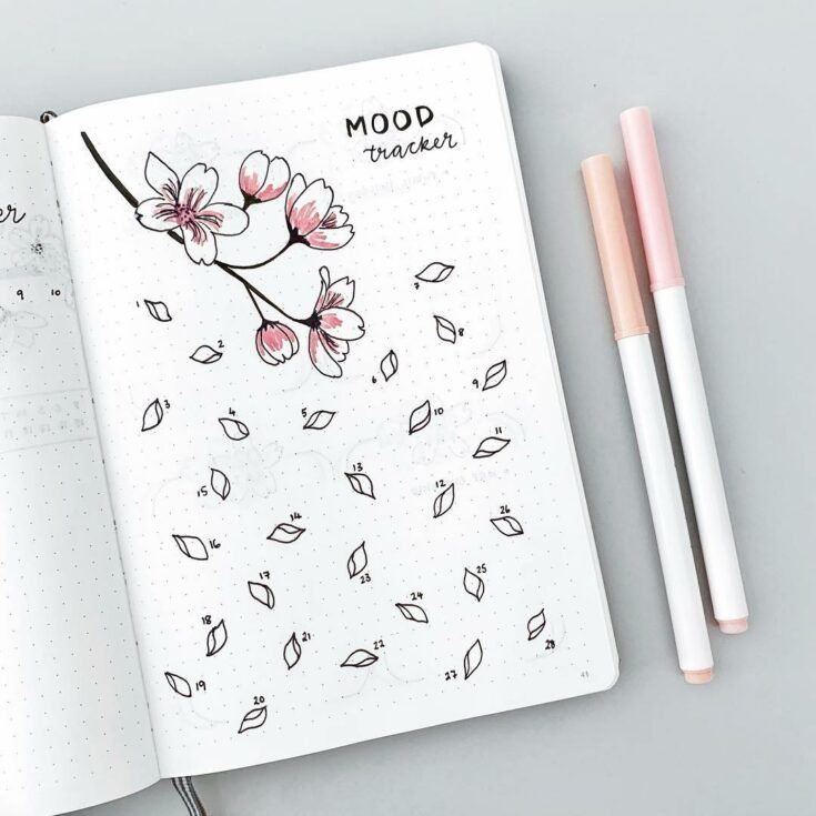 Beautiful Spring Bullet Journal Ideas You Need To Try