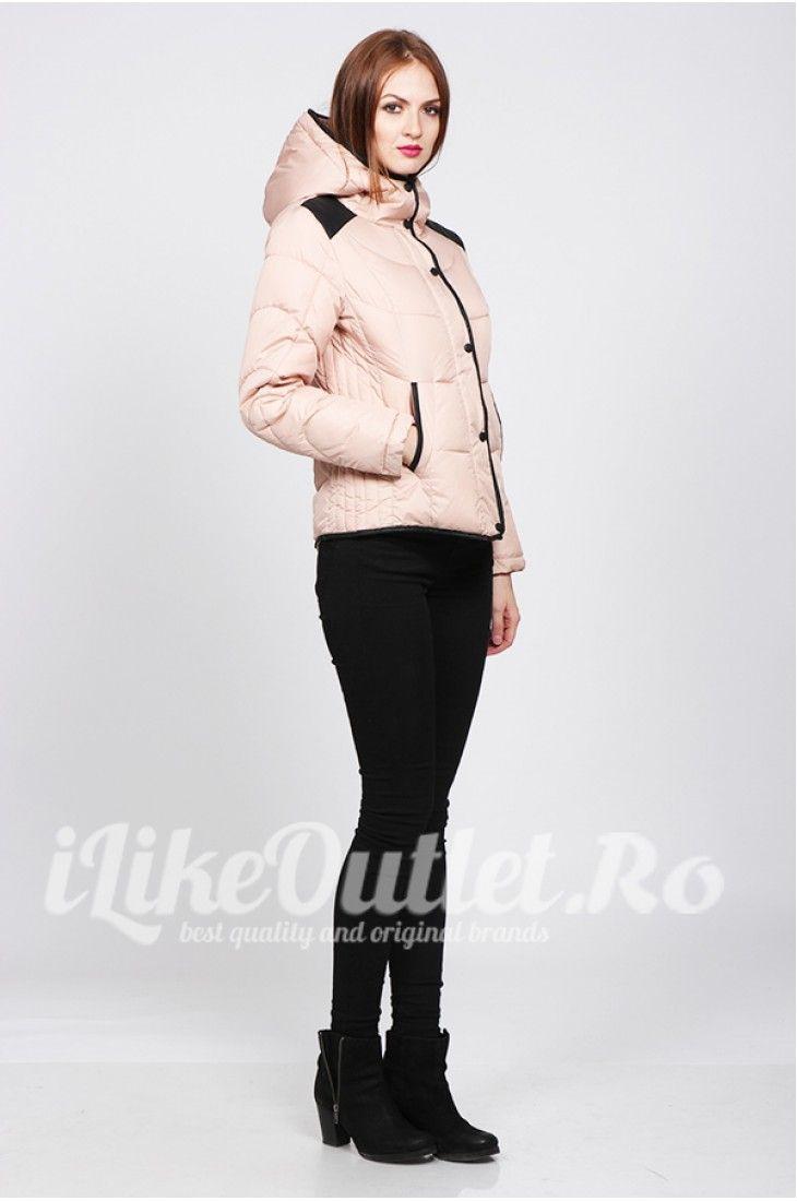 Pink winter jacket - VERO MODA