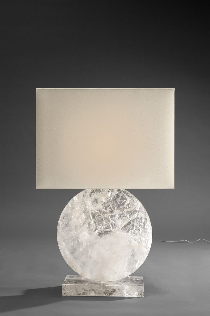 Rock Crystal lamp by Pinto Paris #lighting #interiordecorating #contemporarydesign