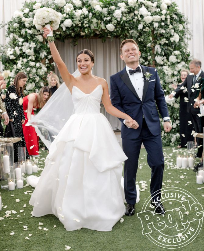 The Most Stunning Photos From Lea Michele S Wedding To Zandy Reich