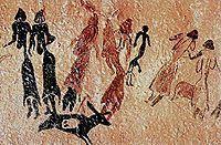 Ejemplo de arte rupestre en España (Levante) #prehistoria  #arterupestre #Levante