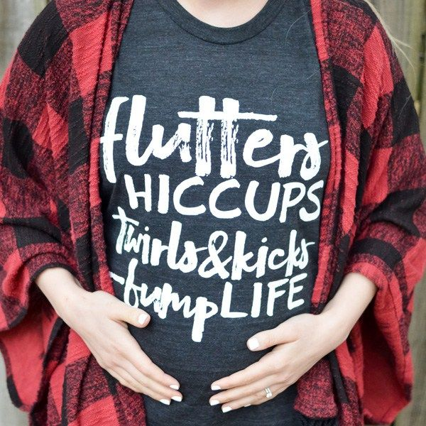 Fifteen of the Cutest Maternity Graphic Tees | Thrifty Littles