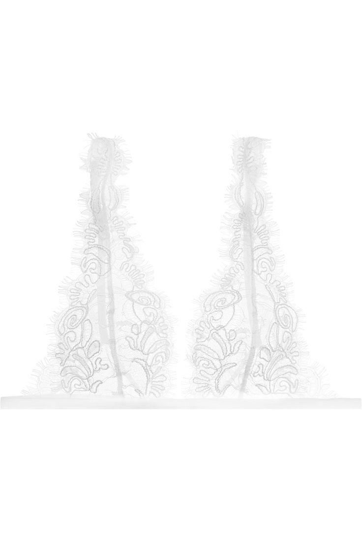 La Perla | Merveille Chantilly lace soft-cup bra | NET-A-PORTER.COM