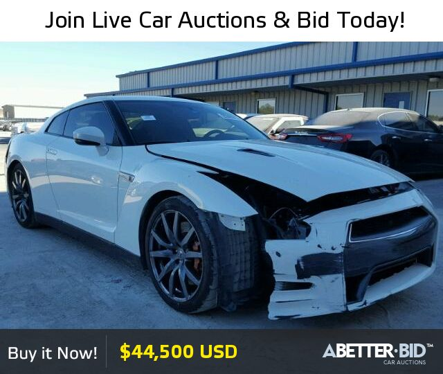 Salvage  2015 NISSAN GTR for Sale - JN1AR5EF7FM281707 - https://abetter.bid/en/20365617-2015-nissan-gt-r_premi