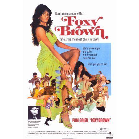 Foxy Brown (1974) 27x40 Movie Poster - Walmart.com