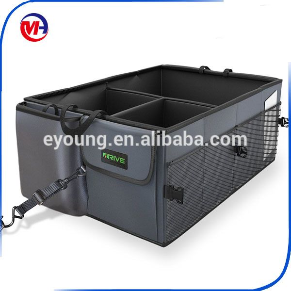 """""""Big Ant Car Trunk Organizer - Cooler Storage for Auto Front & Back Seat, Collapsible - Hold Vehicle Cargo Secure and Prevent Sli"""""""
