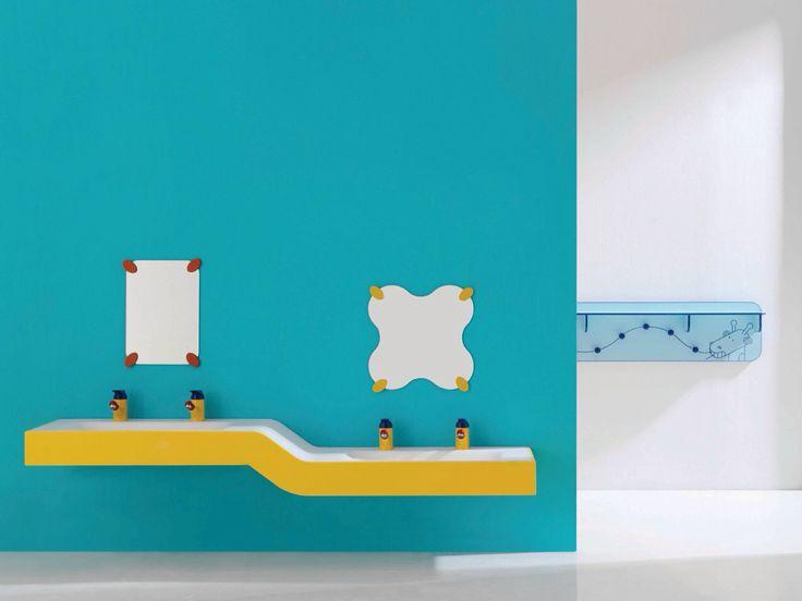 10 best salle de bain enfant images on Pinterest Colorful bathroom