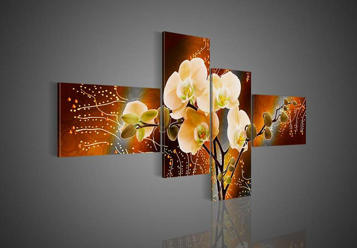 paintings of orchids - Google Search