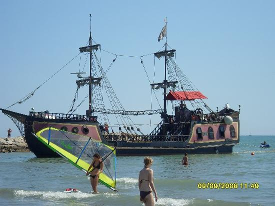 The pirate ship, Cavallino-Treporti