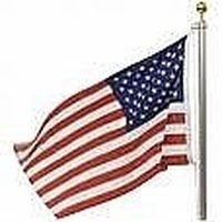 Making a PVC Flag Pole is an excellent do-it-yourself project.  You can build the standard one straight flag pole or you can be creative and have a multi-PVC flag pole.  Flag Pole are a beautiful display on your front lawn or near the front door.  This article will describe how you can build a PVC Flag Pole.