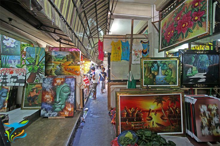 Aneka lukisan Bali, pas untuk menghiasi dinding kosong di rumah anda.