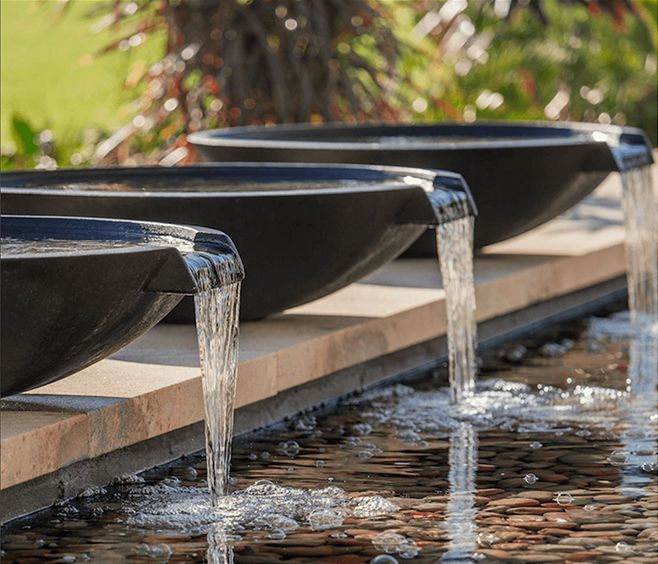 Best 25 pond water features ideas on pinterest backyard - Swimming pool water features perth ...