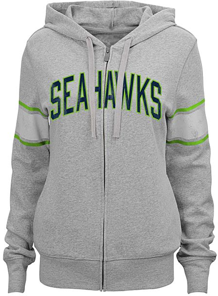 Seattle Seahawks Boyfriend Hoodie - Juniors