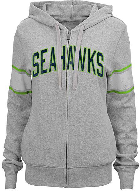 Seattle Seahawks Boyfriend Hoodie - Juniors