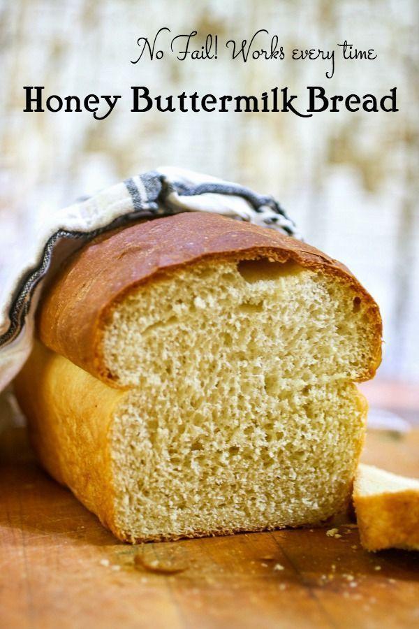 Honey Buttermilk Bread Receita Receita De Pao Caseiro Receitas Comida Caseira