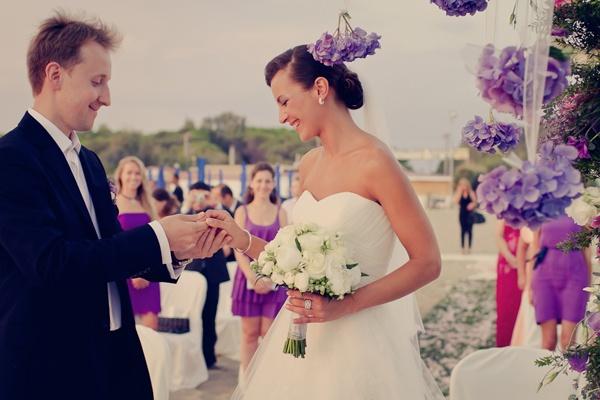 свадьба в фиолетовых тонах  #wedding #purple