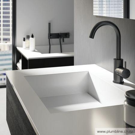 Buddy Highrise Basin Mixer - Bathroom Tapware - Bathroom