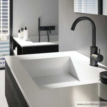 Buddy Highrise Basin Mixer - Buddy - Bathroom Tapware - Bathroom