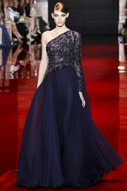 Ellie saab. I would wear this if both sides were full sleeved