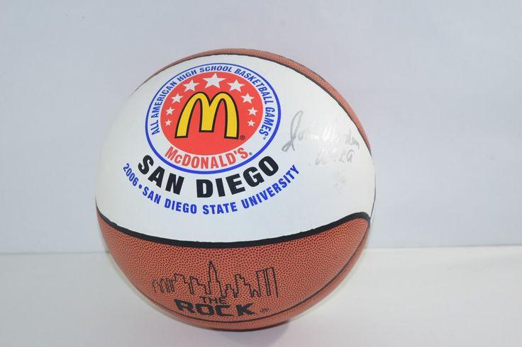 2006 McDonalds All American John Wooden Signed / Autograph Ball - UCLA
