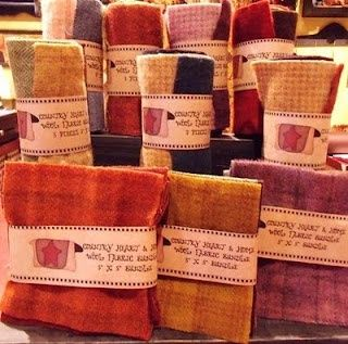 Homespun Memories: Wool Fabric Galore!!!