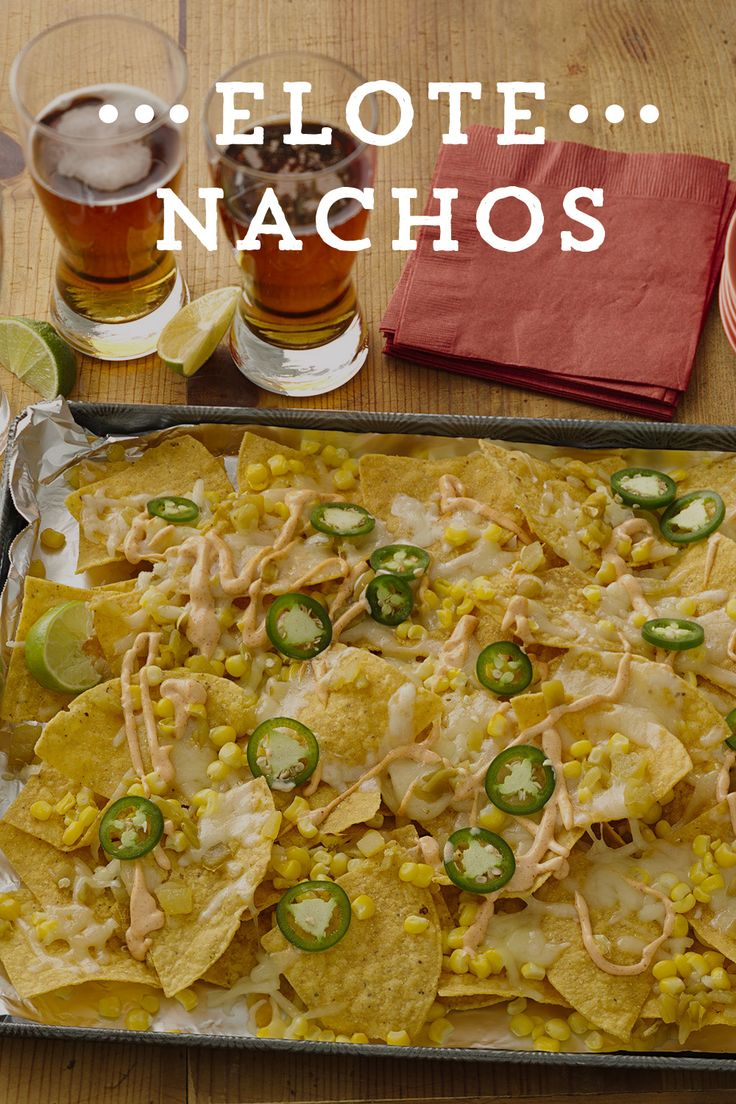 Love Mexican Street corn? Why not turn it into easy, delicious nachos for your game day gathering? Featuring corn, Old El Paso™ Taco Seasoning and Green chiles, and two kinds of cheese - these nachos are sure to please!