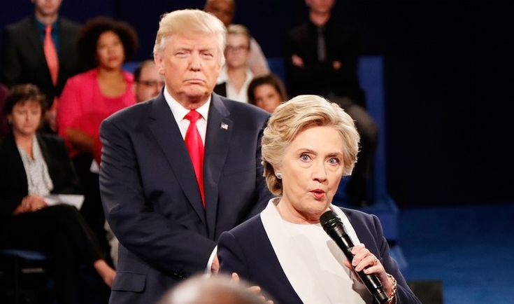 Danny Elfman Composed An Original Horror Movie Score For Trump Stalking Hillary At The Debate