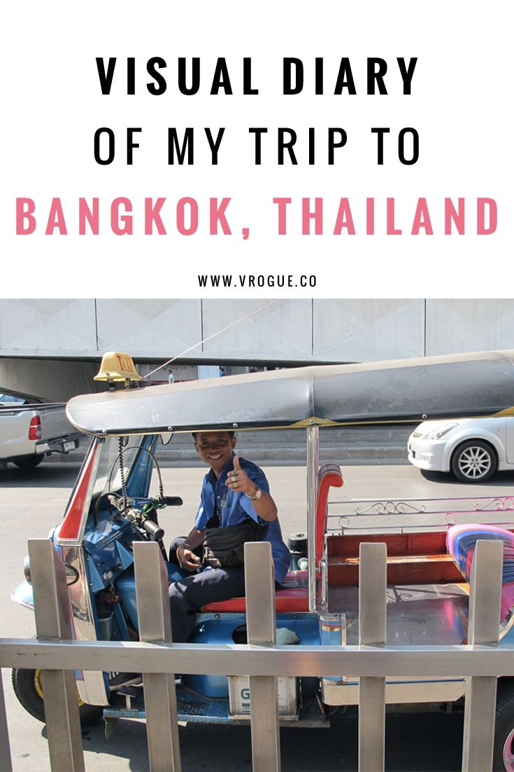 To anyone who is on the fence about whether to travel to Bangkok, Thailand, here is a visual diary of my trip to the beautiful country. Click through to read more or re-pin and save for later!