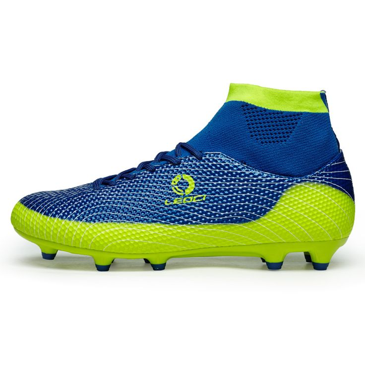 LEOCI High Ankle Soccer Cleats Boots Mens Superfly Soccer Shoes Chaussures de Foot femme Indoor Futsal F Boots EUR 33-44 #Affiliate
